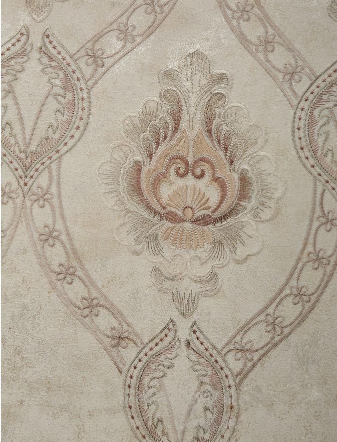 简乐拼刺绣墙布高端环保中欧式绣花广东刺绣墙布加盟厂家图片