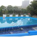 人气水上乐园单品支架游泳池厂家直销图片