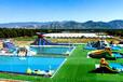 支架游泳池的生产厂家移动水上乐园图片