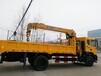东风D70新款驾驶室6.1米货箱徐工8吨四节臂