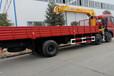 东风仿天龙新款驾驶室货箱8.5米吊机8-12吨