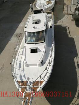 海钓俱乐部必备船款13米大空间玻璃钢专业海钓船