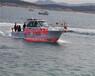2018海钓比赛推荐艇型玻璃钢钓鱼快艇私人钓鱼船