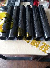 江苏直径300/250/200/150/mm多种规格碳纤维管(君彰)3K格子纹图片