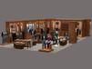 莱芜童装烤漆展柜制作,莱芜服装展柜设计—莱芜展柜加工厂