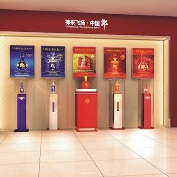 济南红酒展柜制作,红酒烤漆展柜设计,济南烟酒展柜制作