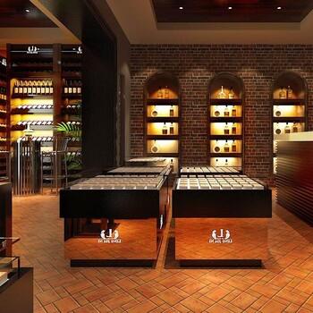 济南红酒展柜设计