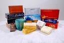 广告盒抽,钱夹面巾纸,筷子四件套定制厂家图片