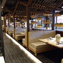 现代简约布艺可拆换洗椅套餐椅酒店咖啡厅餐桌椅子凳子木椅