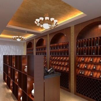 廈門紅酒柜設計定做,低中高檔實木酒柜報價
