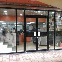 朝阳区安装玻璃弹簧门厂家电话图片