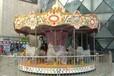 充气城堡仿真樱花树制造大象水滑梯红苹果游乐自控飞机16座豪华玻璃钢顶转马