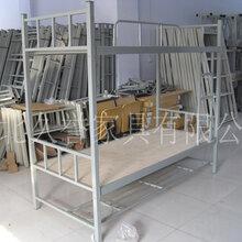 河南钢管高低床,单人单层床,军用床