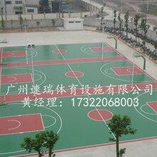 河北保定唐山5mm厚硅pu面层标准塑胶篮球场造价工程包工包料价格速瑞体育