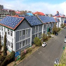 厂家供应210W太阳能电池板,并网发电系统