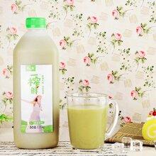 优选优质营养健康佳品一榨鲜绿豆汁1250g6整箱代理批发