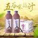 时尚健康饮料正品一榨鲜五谷杂粮汁1250g6瓶饮料厂家直销包邮