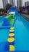 供应江苏展览展会庆典活动互动娱乐设备雨屋蜂窝迷宫水上闯关厂家租赁