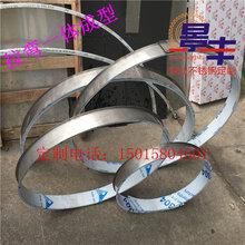 不銹鋼圓弧形天花吊頂背景墻裝飾條u型包邊側面拉彎圓形圖片
