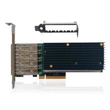 联瑞(LR-Link)四口万兆光纤网卡/服务器网卡