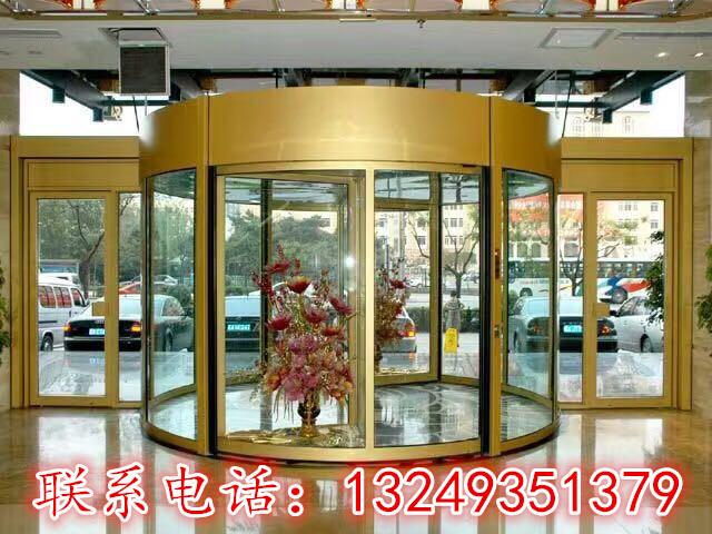 旋转门工业门图片