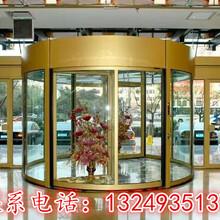 石家庄专业的自动旋转门制作厂家_品牌旋转门定制安装_德普尔门业图片