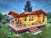西安阳光木屋,生态小木屋别墅,防腐木活动房,专业制作建造