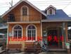 西安防腐木活动房、木屋别墅、木屋会所、木屋阳光房建造定制