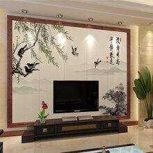 竹木纤维板背景墙3d打印机护墙板集成墙板家装建材UV平板打印机