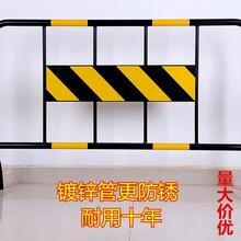 深圳交通设施优质铁马铁马厂家镀锌黄黑铁马