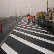 深圳热熔划线工程施工、道路标线、停车位划线厂家