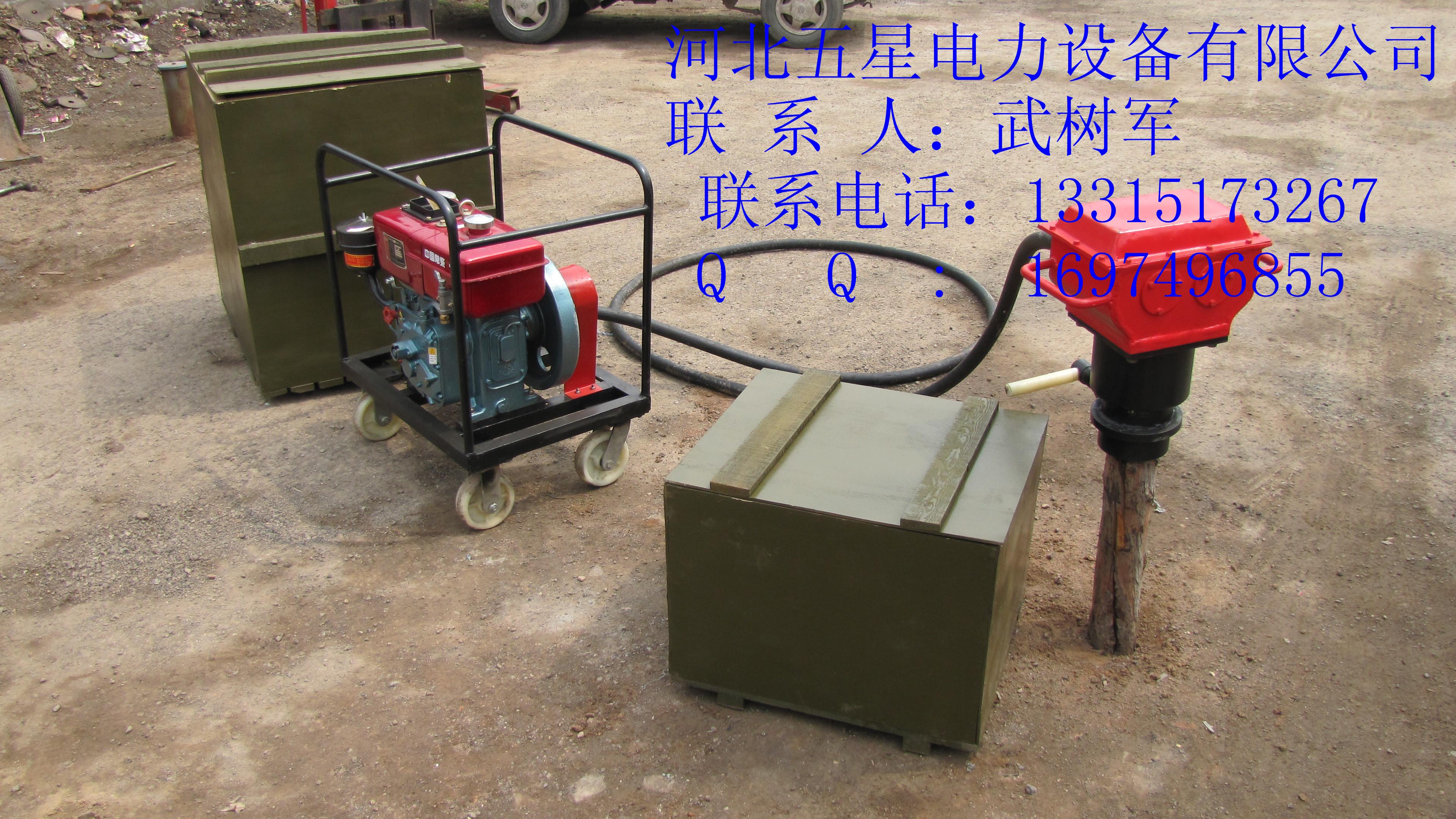 防汛植桩机的参数图片