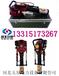 樁頭動力裝置一體的可背負式汽油打樁機,單人即可攜帶作業的五星一體式防汛打樁機