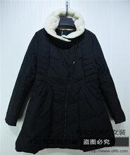 杭州品牌尾货批发走份唯西羽绒服15冬装品牌女装走份图片