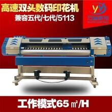 万宜高速数码打印方案服装布料热转印打印机