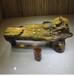 楠木根雕流水茶桌实木茶几原木茶台整木茶海工厂直销现货价格美丽