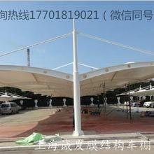 上海膜结构停车棚厂家直销图片