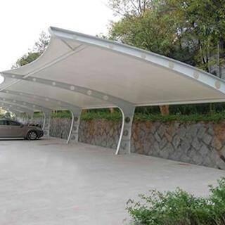 设计制作张拉膜、停车棚、景观膜等多种系列图片3