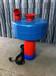 小鱼塘浮水泵增氧机浮水泵喷水式增氧机