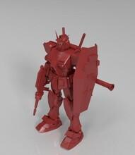 东莞3D打印儿童动漫变形高达机器人模型玩具动漫手办