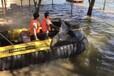 水上越野車您嘗試過嗎?比越野車更刺激的水陸氣墊船給予你不一樣的體驗