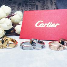 卡地亚Cartier订婚钻戒1895爱你一生一世