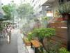 云南园林喷雾造景设备生态餐厅喷雾造景小区喷雾造景
