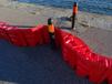 红色L型防汛挡水板,便携式组合型挡水板