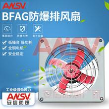 石油化醫藥工廠隔爆專用安全BFAG-300/400/500/60隔爆型防爆排風扇選型圖片