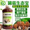 用菌菇生态宝种植香菇大大提高香菇产量走上致富之路