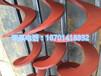 专业加工定制各种型号螺旋叶片无轴螺旋