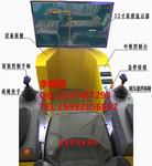 高速轮式挖掘机模拟机/器图片