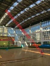 金属吊顶板-吊顶吸音瓦楞板-厂房吊顶冲孔吸音板图片