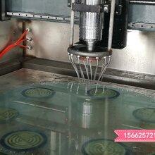 河北工厂直营自动换刀玻璃加工中心,CNC异形玻璃磨边机图片